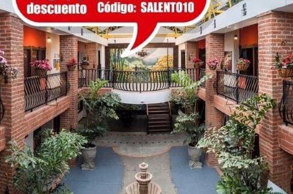Promo 10% únicamente WEB Hotel Salento Real Eje Cafetero