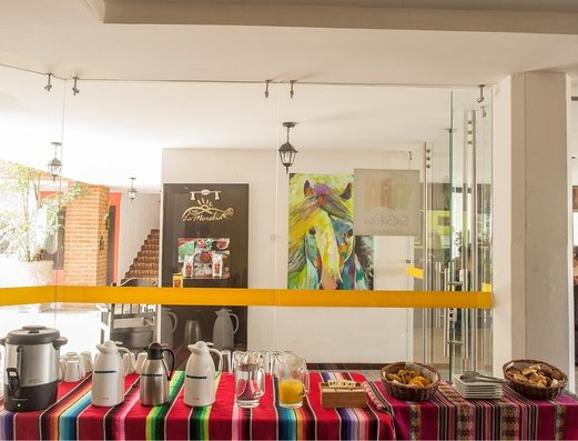 Estación de bebidas Hotel Salento Real Eje Cafetero