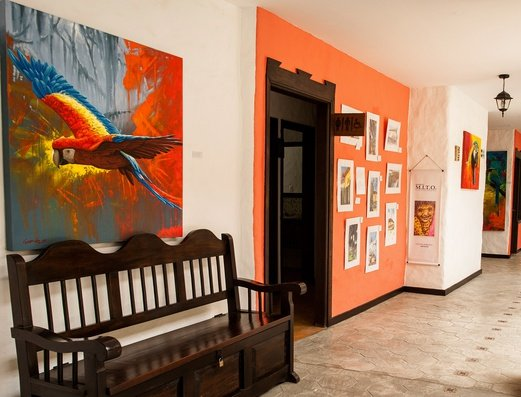 PASILLOS Y ARTE Hotel Salento Real Eje Cafetero
